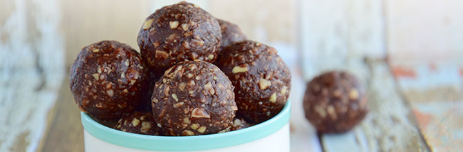 Date and Seed Energy Balls