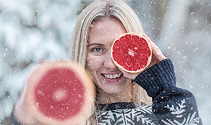 How to eat well in winter