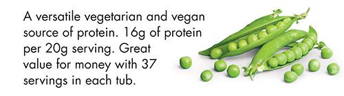 Pea Protein Powder | Rich in Amino Acids | Nature's Best Sport