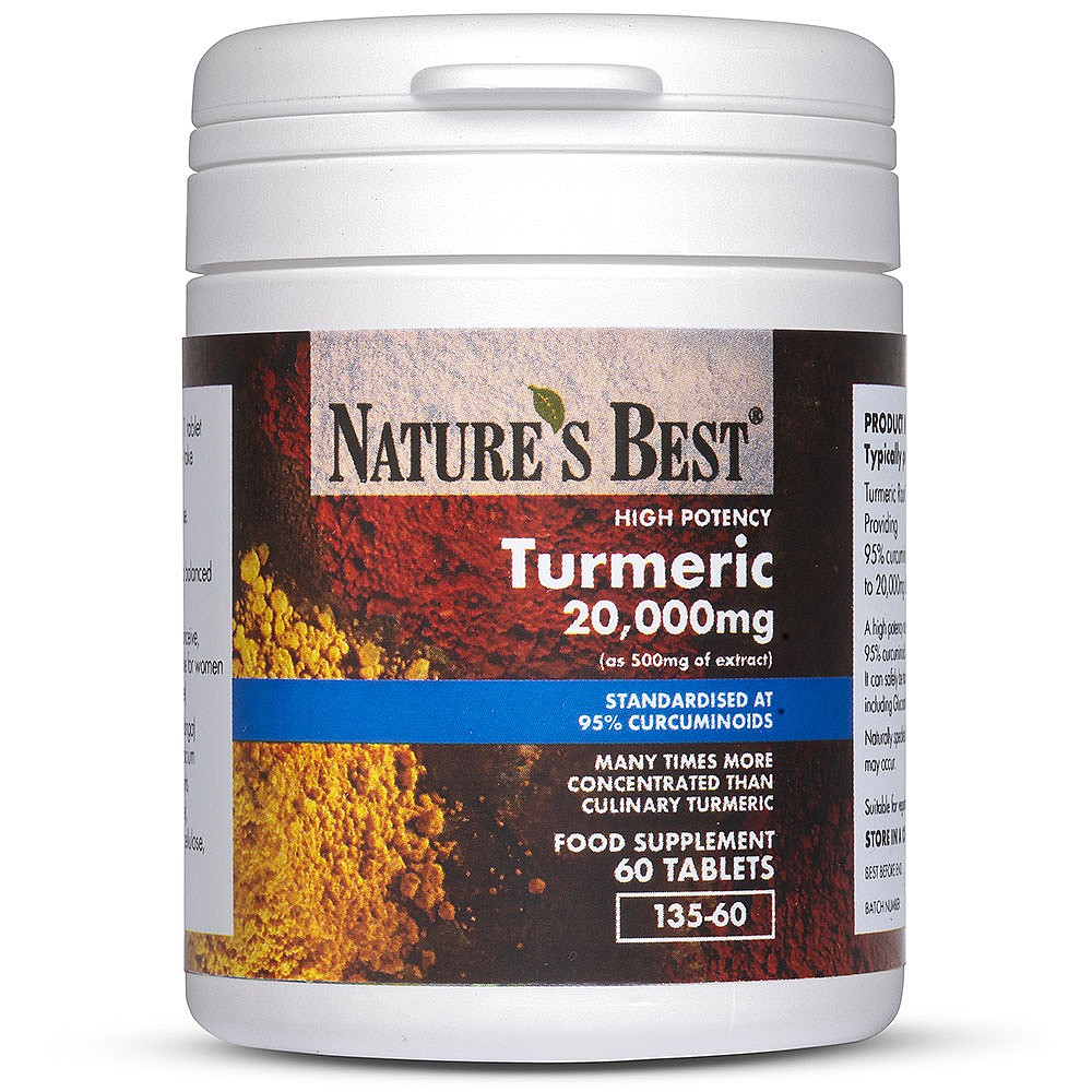 Turmeric Tablets 10 000mg Nature S Best