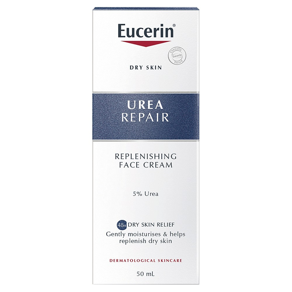 eucerin dry skin relief face cream