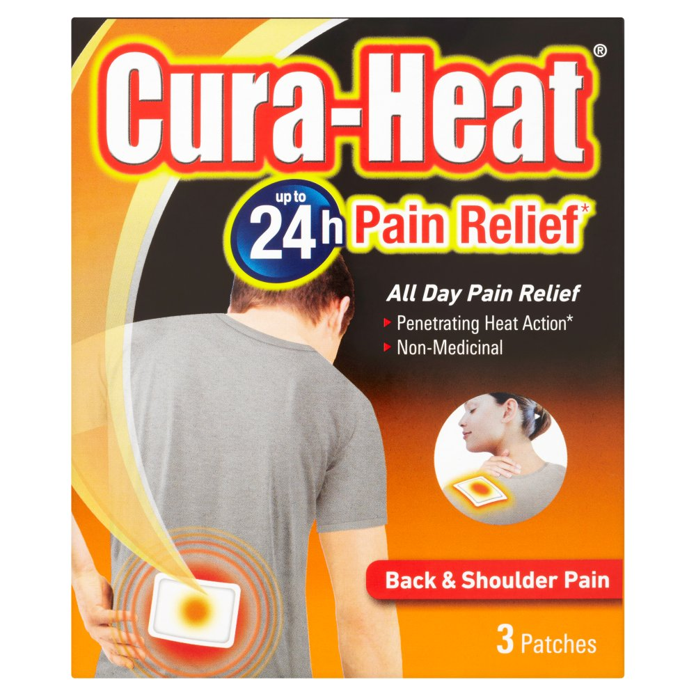 Cura Heat Back & Shoulder Pain | Nature's Best Pharmacy