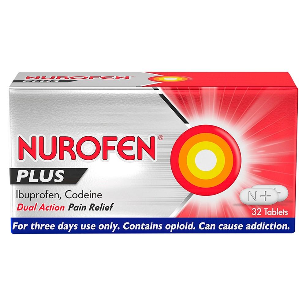 Nurofen Plus Tablets Natures Best Pharmacy Panadol Actifast 32