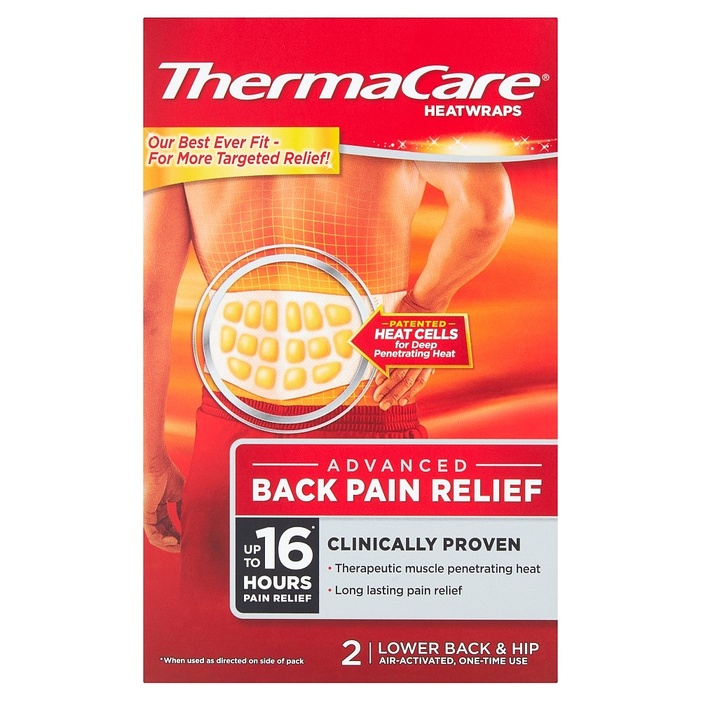 Thermacare Back Heat Wrap Nature S Best Pharmacy