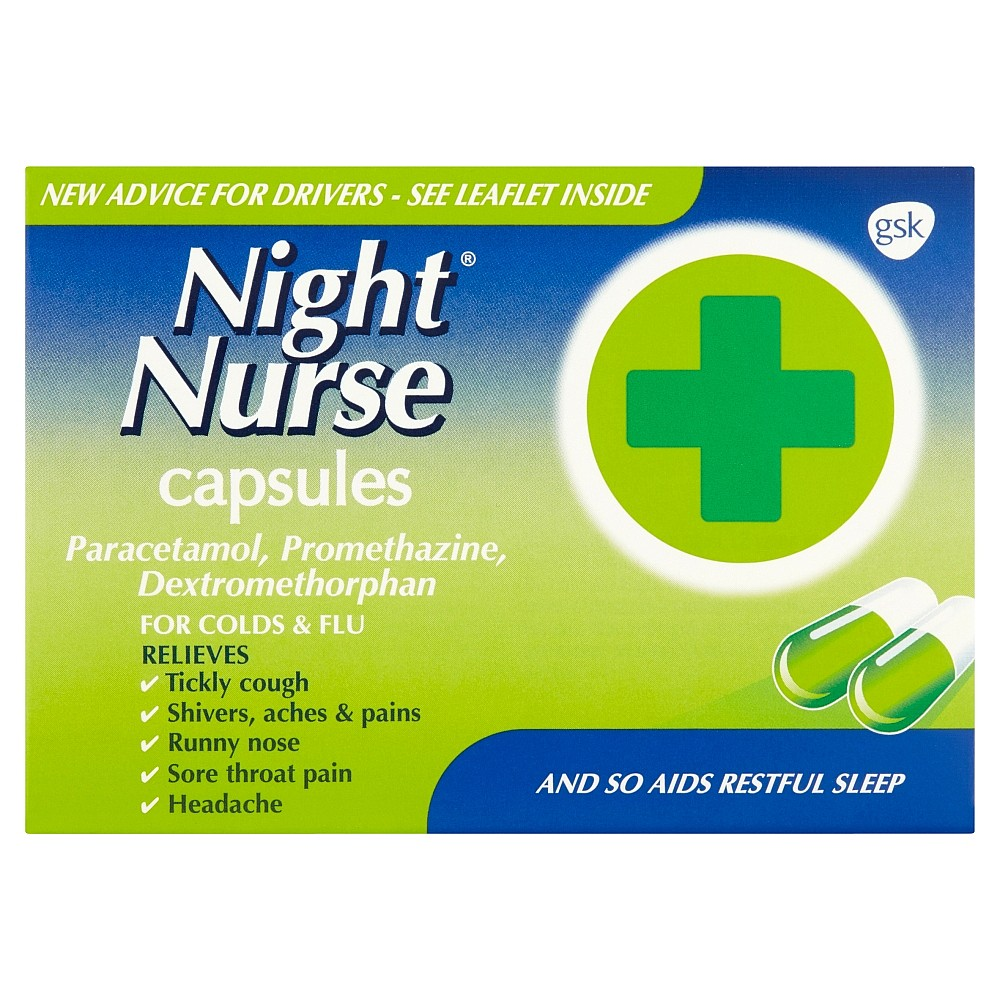Night Nurse Capsules | Flu Relief | Nature's Best Pharmacy
