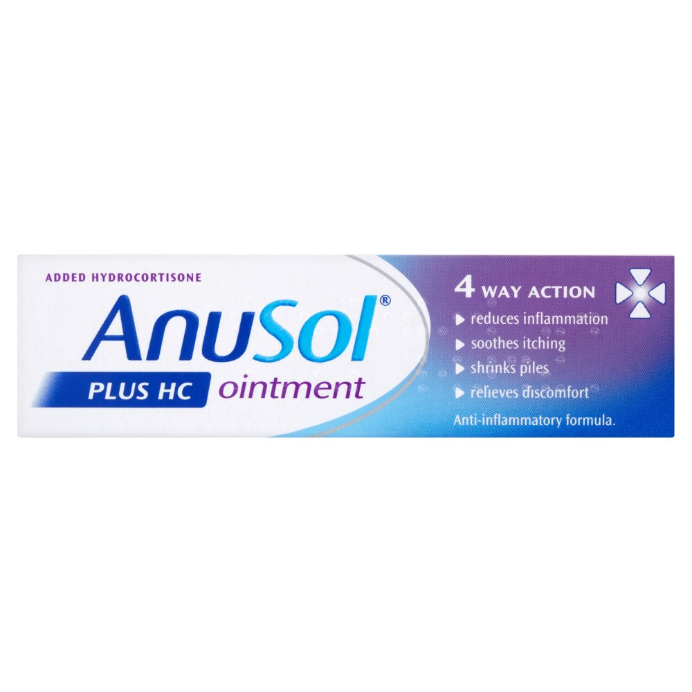 Anusol Plus HC Ointment - 15g-Nature's Best Pharmacy