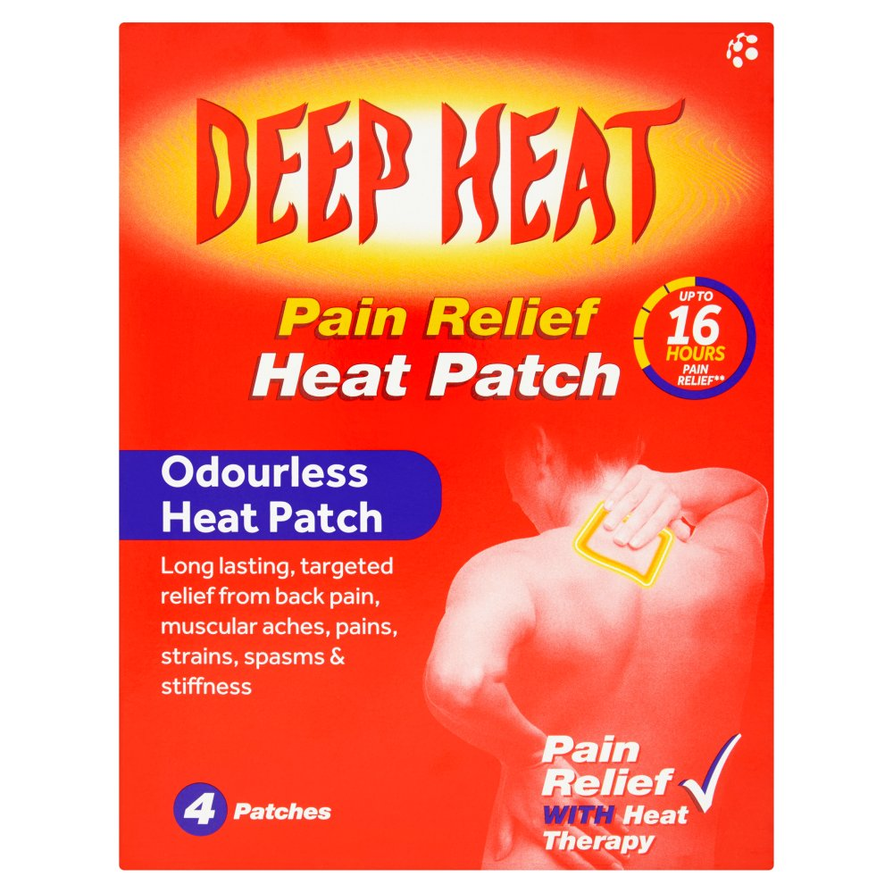 Deep Heat Patches Pain Relief Nature S Best Pharmacy