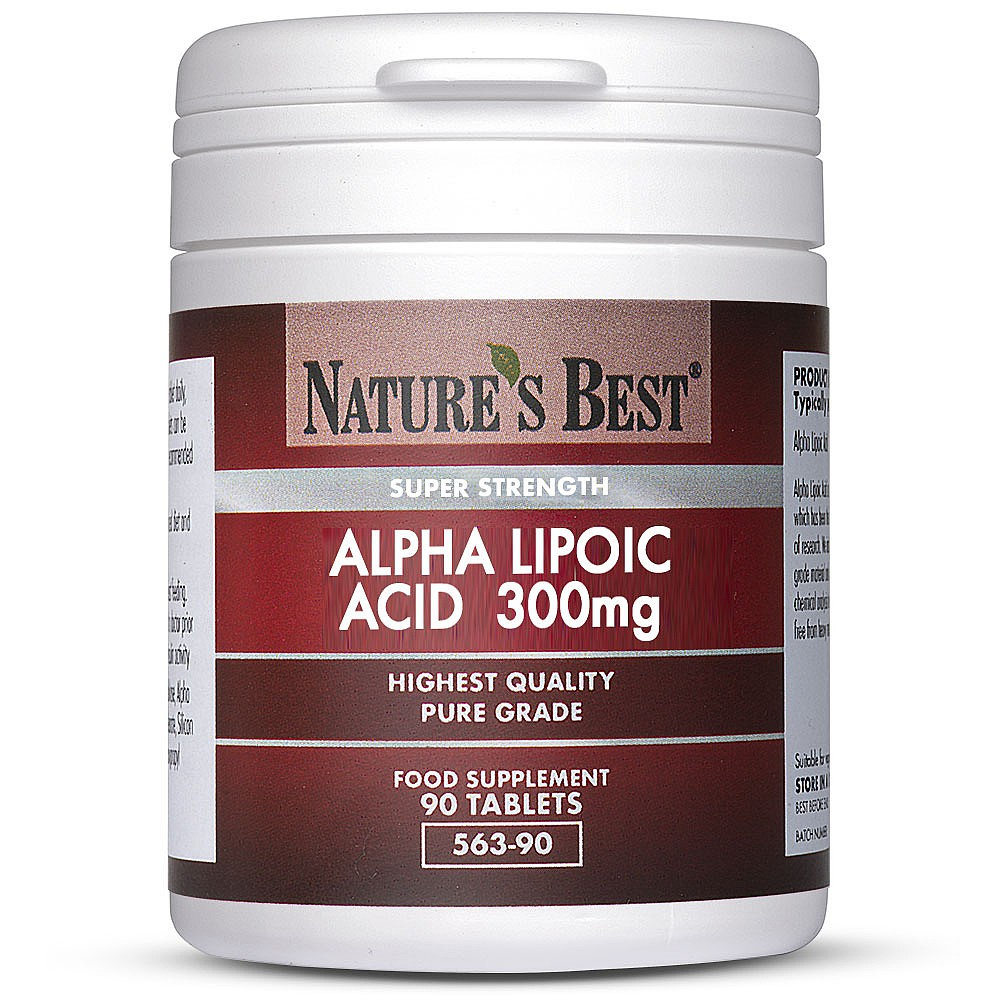 Alpha Lipoic Acid (ALA) Supplements