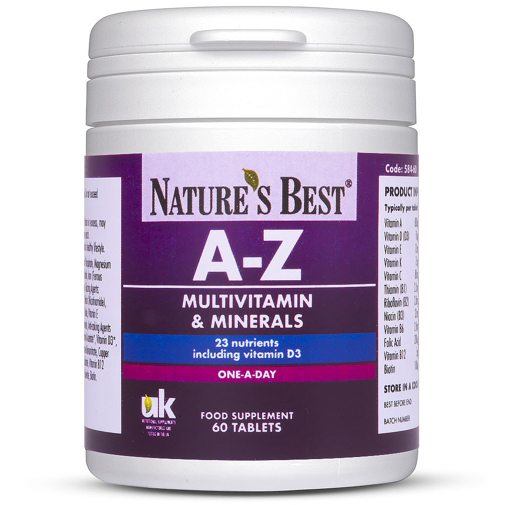 A to Z Multivitamin Tablets | Nature's Best