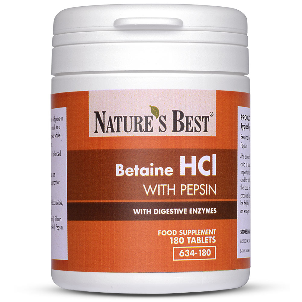 What is betaine hydrochloride