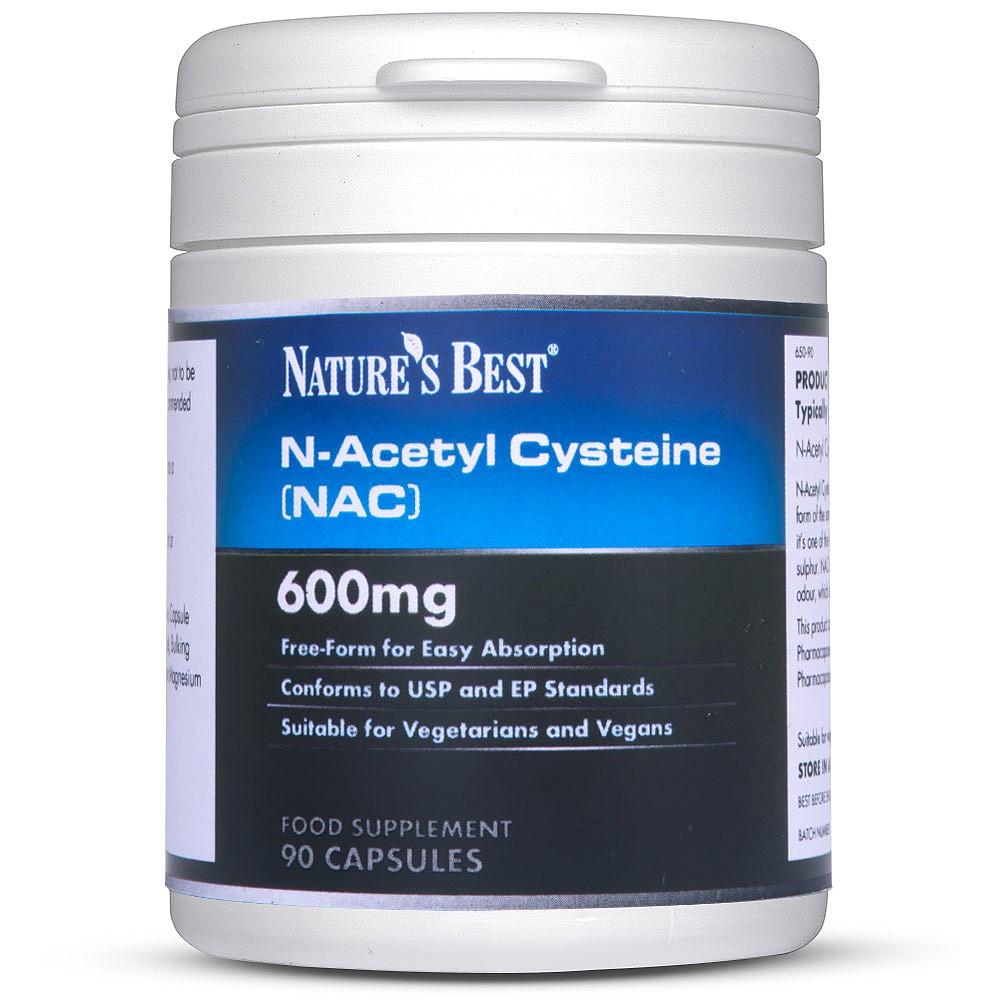 N-Acetyl Cysteine 600mg (NAC)