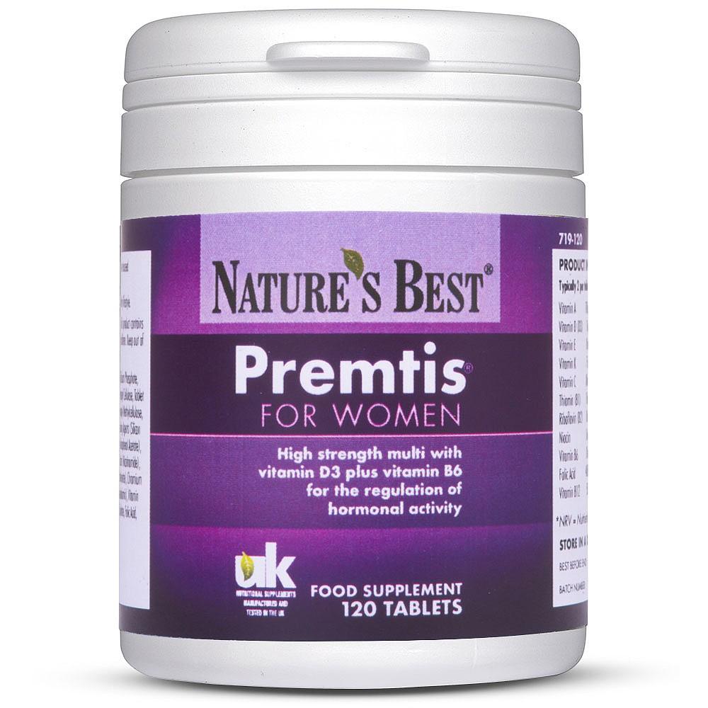 PMS & PMT Supplements | Nature's Best Premtis®