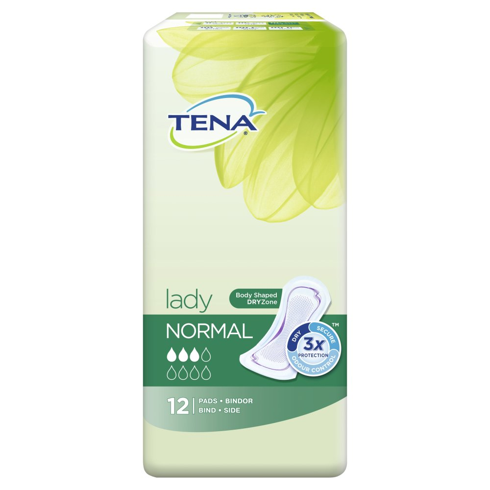 TENA Lady Normal Incontinence Pads - 12-Nature's Best Pharmacy