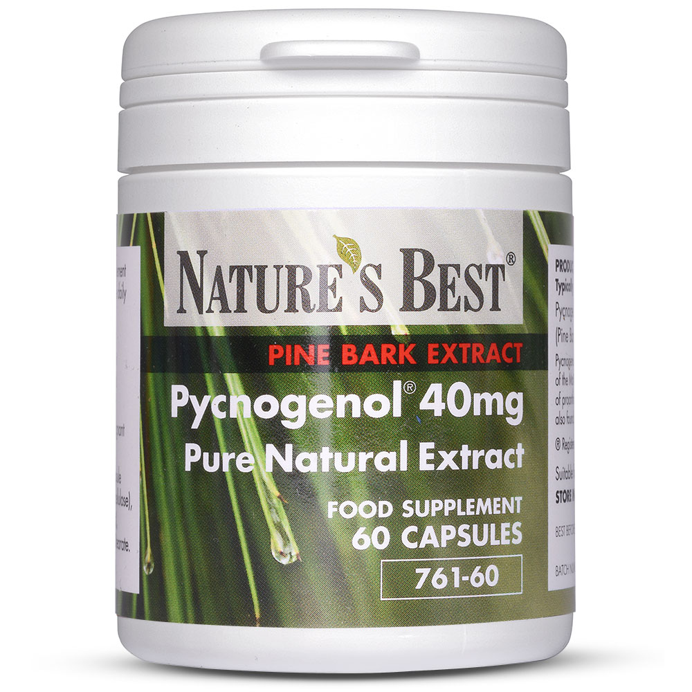Pine Bark Extract Pycnogenol By Nature S Best