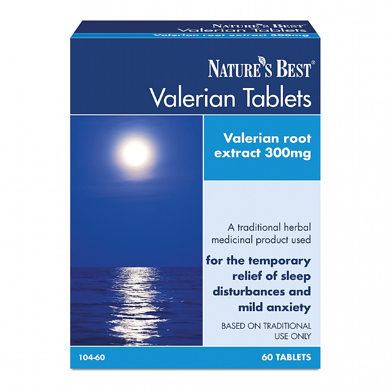 Health & Wellbeing|Food Supplements Valerian, For The Relief Of Sleep Disturbances & Mild Anxiety 120 Tablets In 2 Cartons