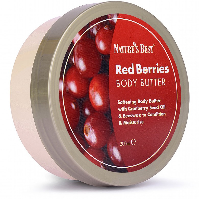 Body Butter Red Berries 200Ml