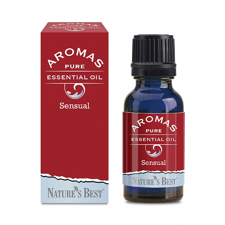 Sensual Blend, With Orange Peel & Ylang Ylang Flower Oils 20Ml