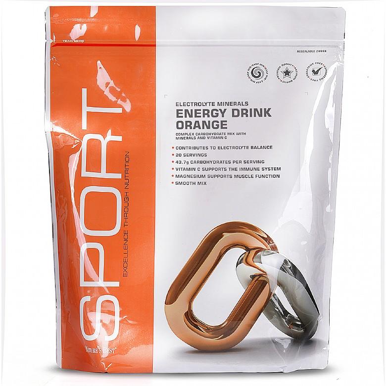 Energy Drink Orange Flavour 1000 Grams