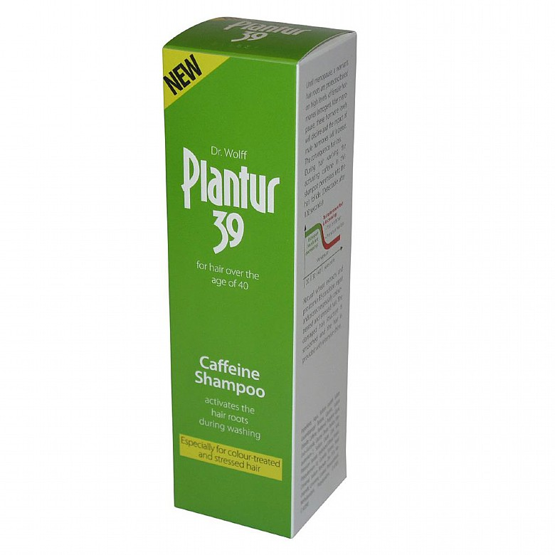 Dr Wolff Plantur 39 Phytocaffeine Shampoo For Coloured And Stressed Hair