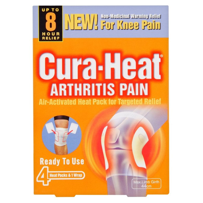 Curaheat Arthritis Pain For Knee Heat Pack 4