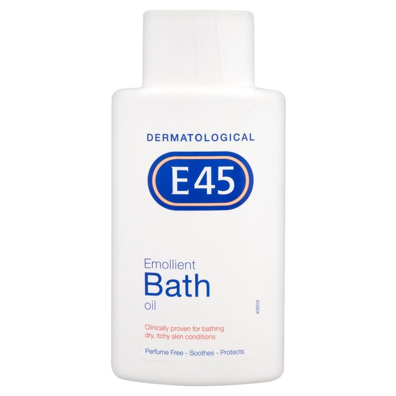 Treatment & Prevention|Skin & Hair Protection|Body Oils E45 Emollient Bath Oil 500Ml
