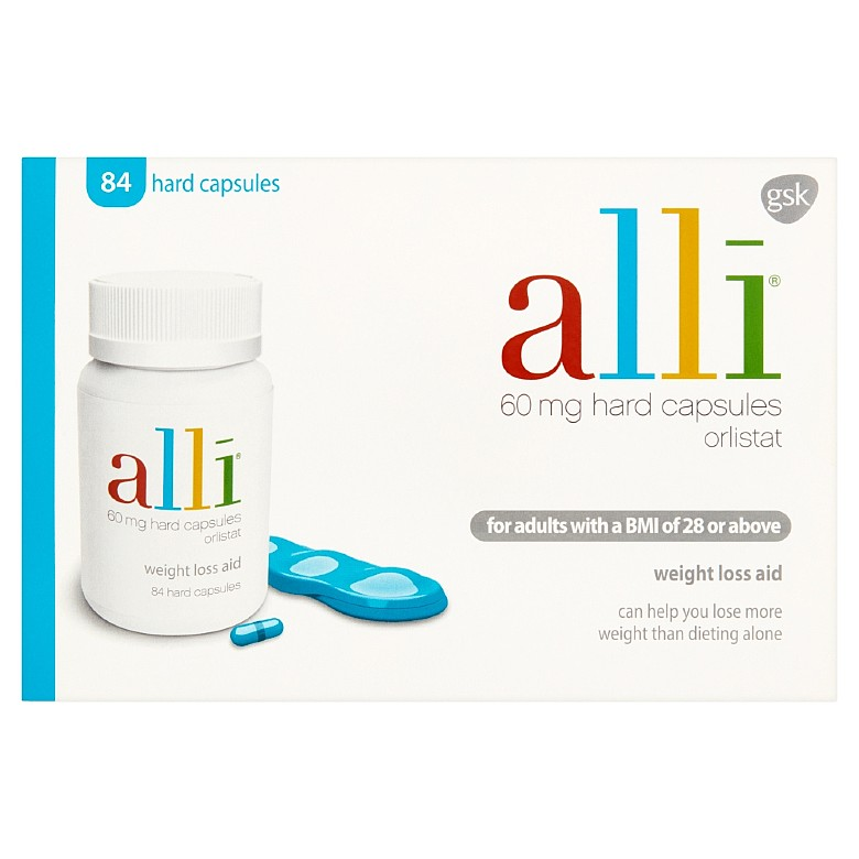 Alli 60Mg Weight Loss Aid Capsules 84