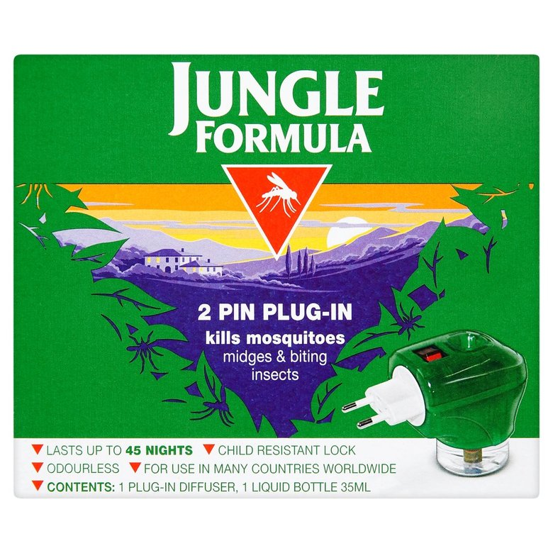 Eyes|Insect Bite Treatment Jungle Formula Plug In
