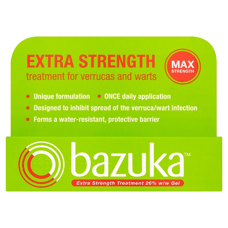Bazuka Extra Strength Gel (Gsl) 6G