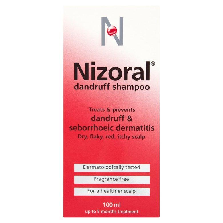 Nizoral Antidandruff Shampoo (P) 100Ml