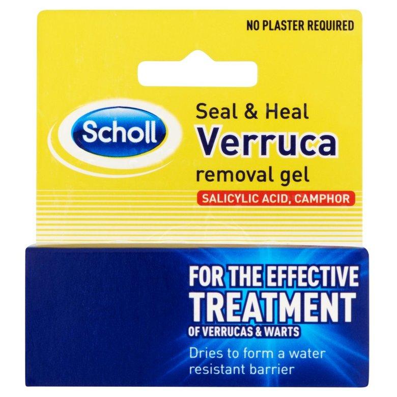 Scholl Seal & Heal Verruca Removal Gel 10 Ml