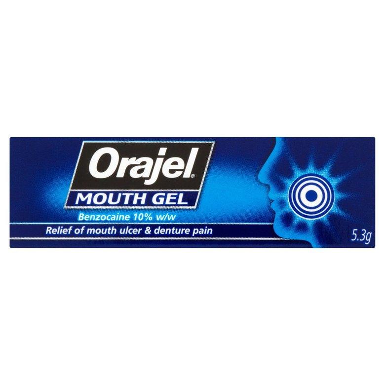 Orajel Mouth Gel 5.3G