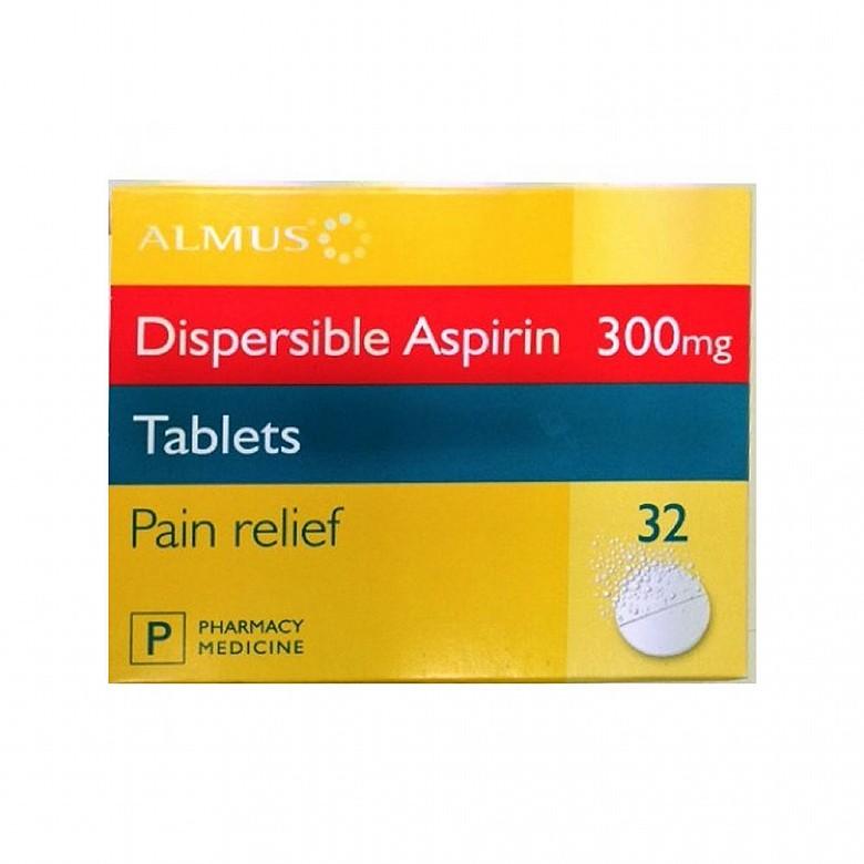 Almus Aspirin Tablets Dispersible 300Mg