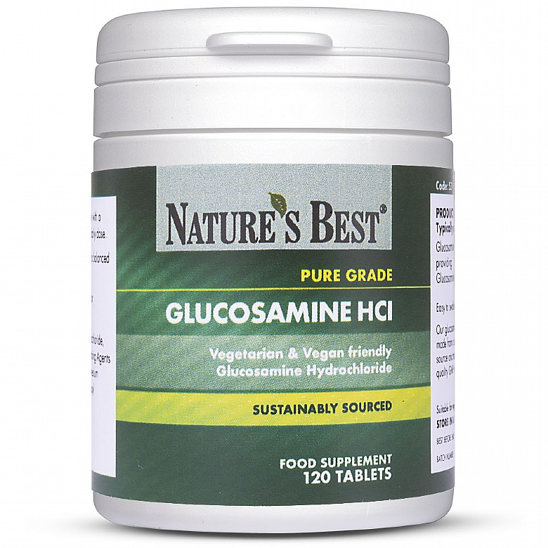 Vegetarian Glucosamine Hcl 240 Tablets In 2 Pots