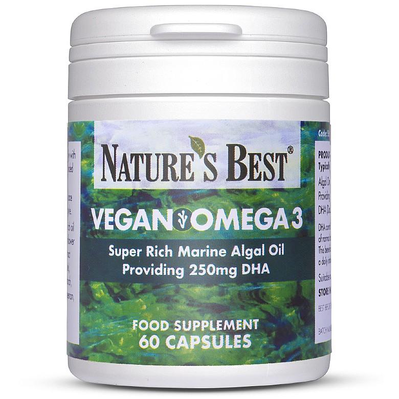 Veg Omegavegan Omega 3 Oil 625Mg 60 Capsules