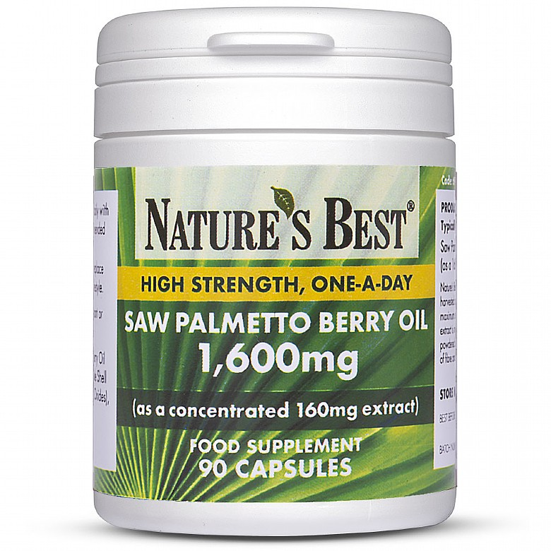Saw Palmetto 1440Mg 90 Capsules