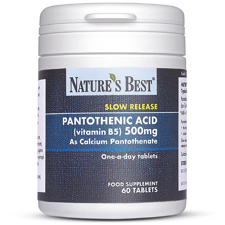 Vitamin B5 60 Tablets