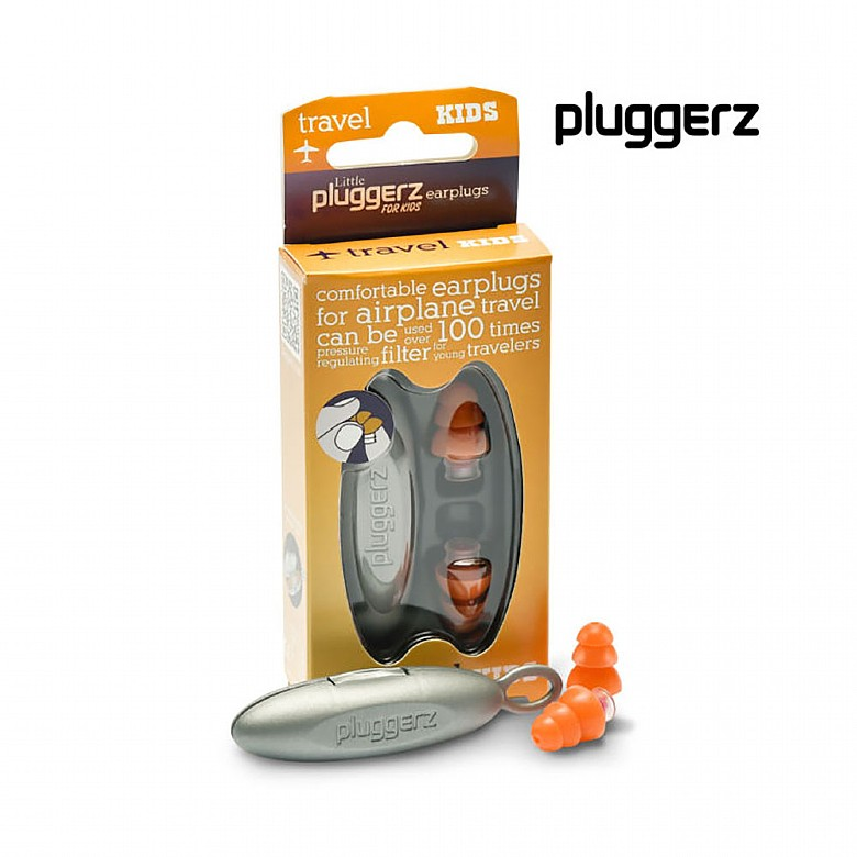 Ear Protection Pluggerz Travel Earplugs for Kids