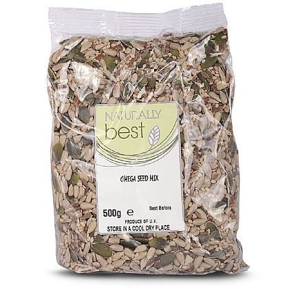 Omega Seed Mix, Good Source Of Omega 3s and B Vitamins
