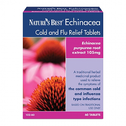 Echinacea Cold and Flu Relief Tablets