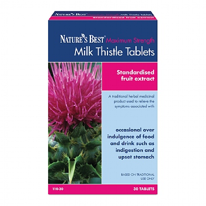 Milk Thistle Tablets 7200 - 8100mg