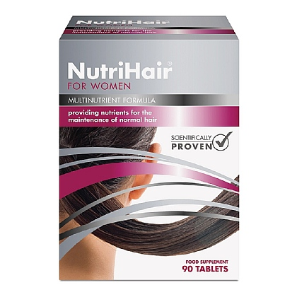 NutriHair<sup>®</sup> for Women, A Specialist Multi To Help Maximise Hair Growth