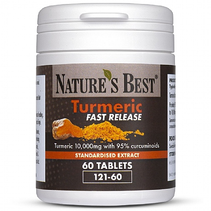 Turmeric Fast Release Tablets 10,000mg