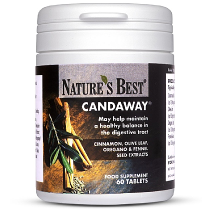 Candaway<sup>®</sup>, To Help Maintain A Balance In The Digestive System