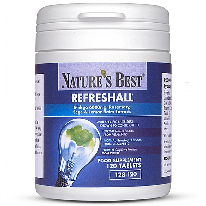 Refreshall<sup>®</sup>, For Normal Cognitive Function*