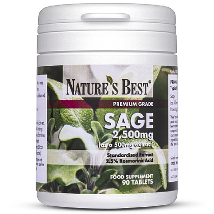 Sage 2500mg, High Strength