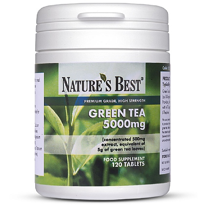 Green Tea 5000mg, Pure Grade Extract