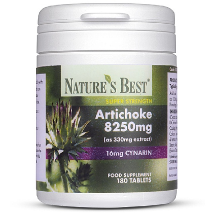Artichoke 8000mg, High Strength Extract