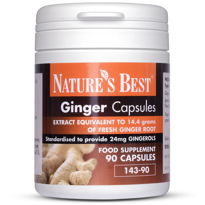 Ginger Capsules 14,400mg
