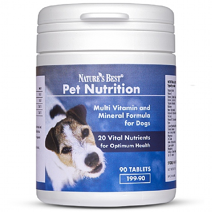 Multi Vitamin and Mineral for dogs