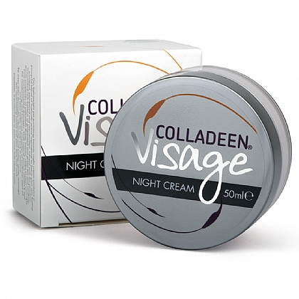 Colladeen<sup>®</sup> Visage Night Cream, Soothing and Gentle On The Skin